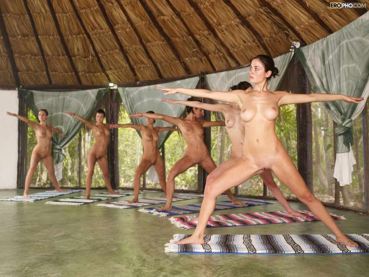 Totally Nude Tai Chi Photo